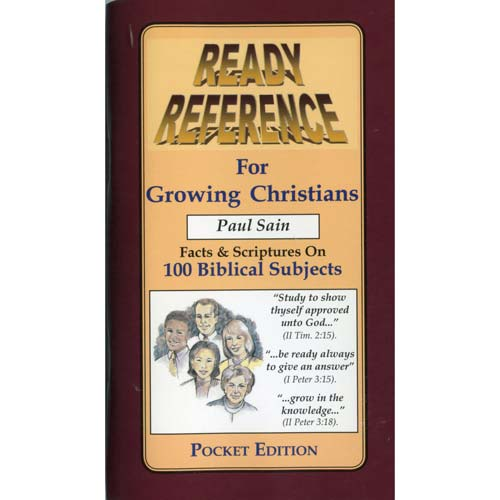 Ready Reference for Growing Christians (Pocket Edition)