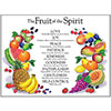 Fruit of the Spirit Wall Chart