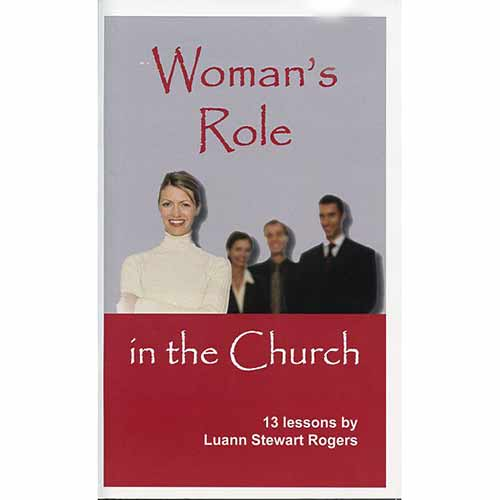 an introduction to the role of women in the church Church discipline  counseling role play class  introduction to biblical counseling:.